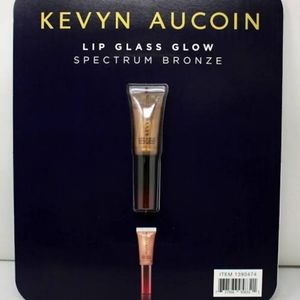 "KEVIN AUCOIN glass glow lip, ""spectrum bronze"""